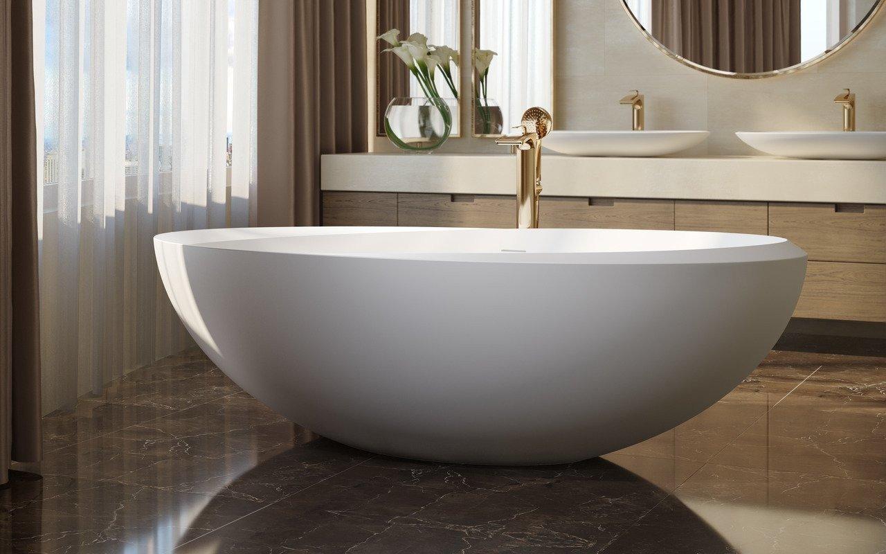 Illusion Отдельностоящая Каменная Ванна picture № 0