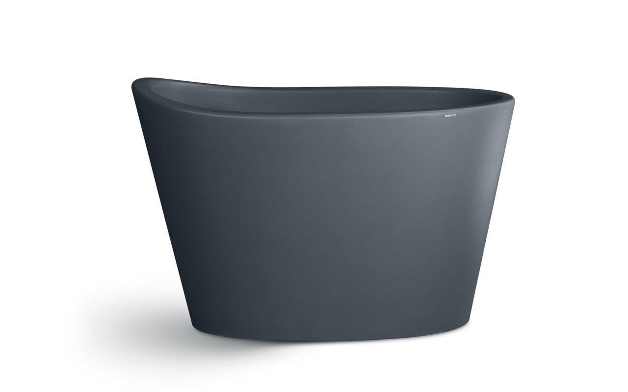 Aquatica True Ofuro Concrete Pro Freestanding Stone Japanese Soaking Bathtub 01 (web)