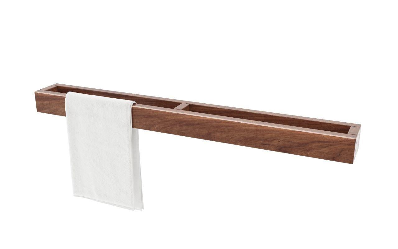 Universal Водонепроницаемый Настенный Полотенцедержатель из Дерева Американский орех picture № 0