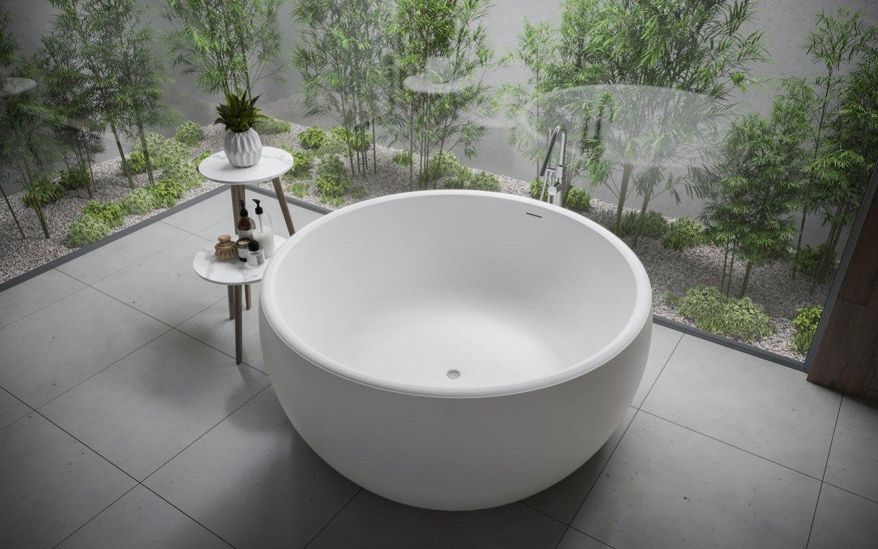 Aura Mini Отдельностоящая Каменная Ванна picture № 0
