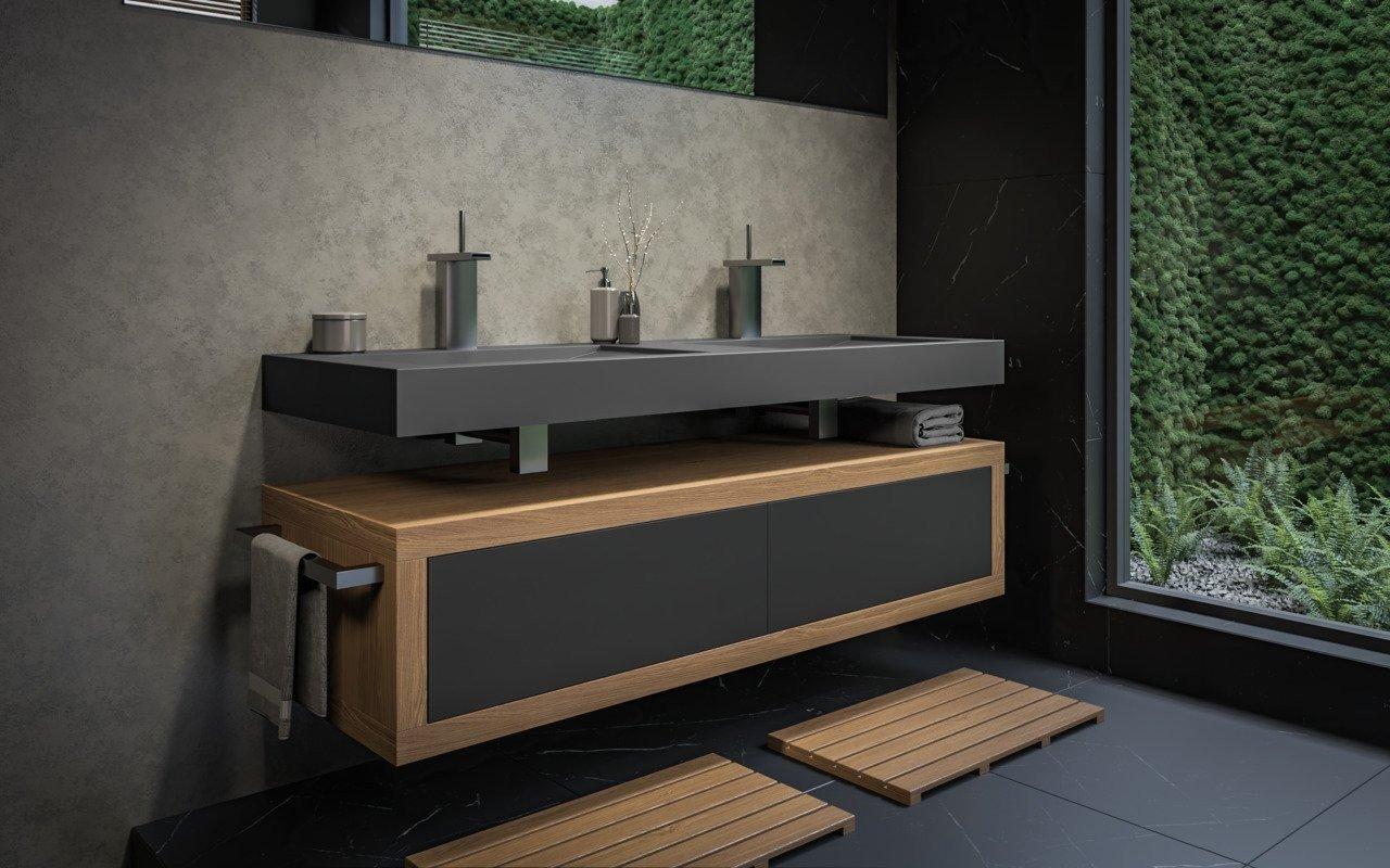 Millennium Black Stone Wooden Cabinets 02 (web)