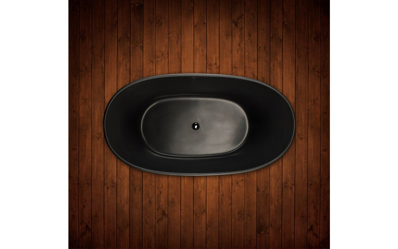 Purescape 748M Black Freestanding Stone Bathtub web (11)