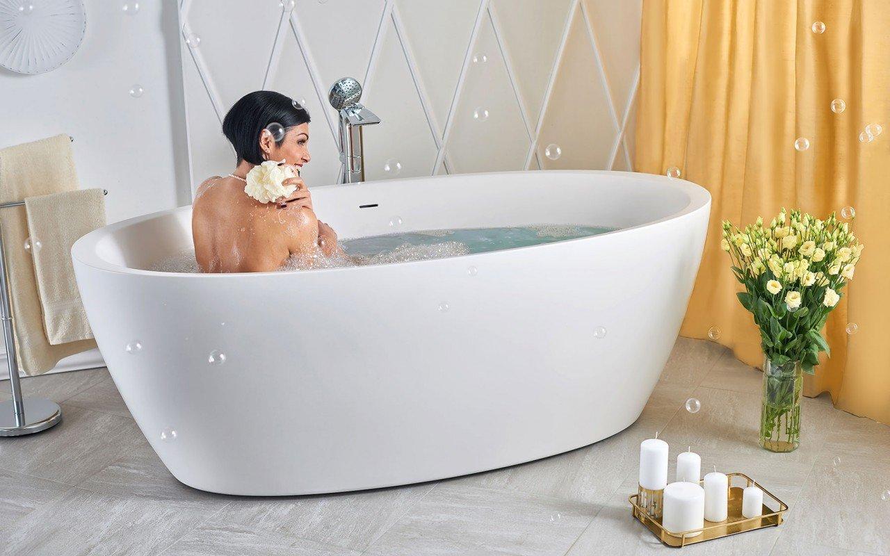 Sensuality Отдельностоящая Каменная Ванна picture № 0