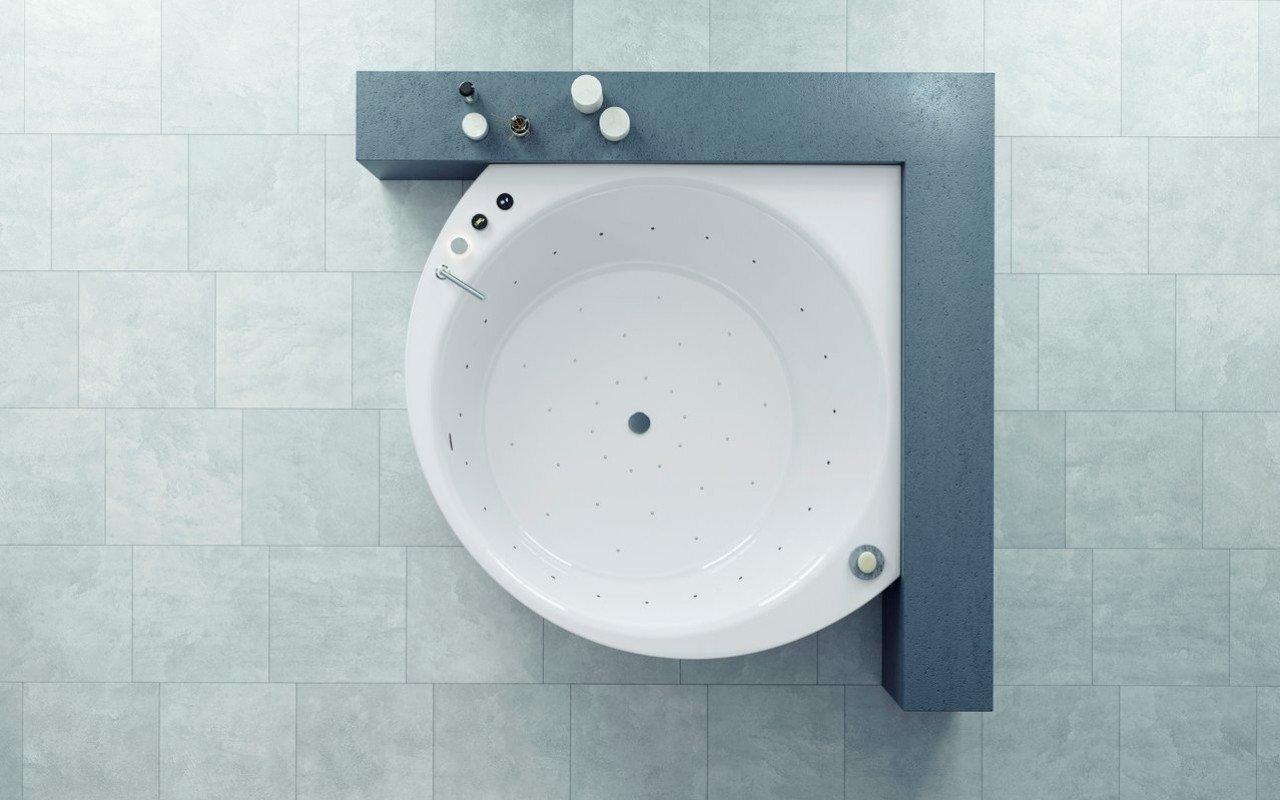 Aquatica Suri-Wht Relax Air Massage VelveX™ Bathtub - Fine Matte picture № 0