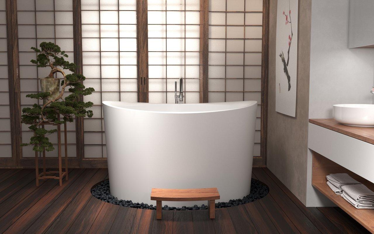 True Ofuro Duo Сидячая Ванна в Японском Стиле picture № 0