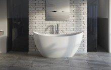 Aquatica purescape 171 mini matte freestanding solid surface bathtub 01 (web)