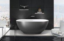 Karolina 2 gunmetal grey wht freestanding solid surface bathtub 01 (web)