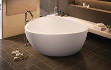 Trinity Relax Freestanding Light Weight Stone Bathtub Fine Matte 01 (web)