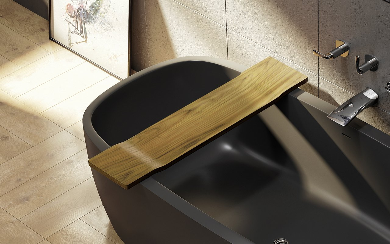 Aquatica tidal waterproof teak bathtub tray 01 1 (web).jpg